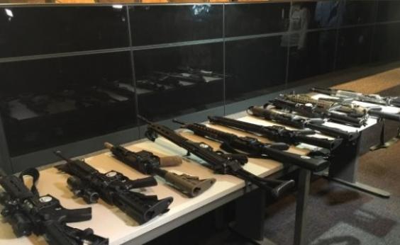 Rocinha: operação apreende armas e prende criminosos neste sábado