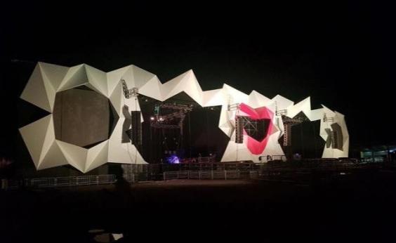 Pela primeira vez, palco do Salvador Fest contará com estrutura cenográfica;confira