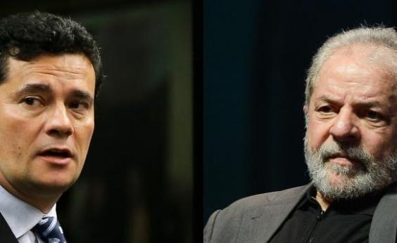 Desaprovação de Lula cai e de Moro dispara, diz pesquisa