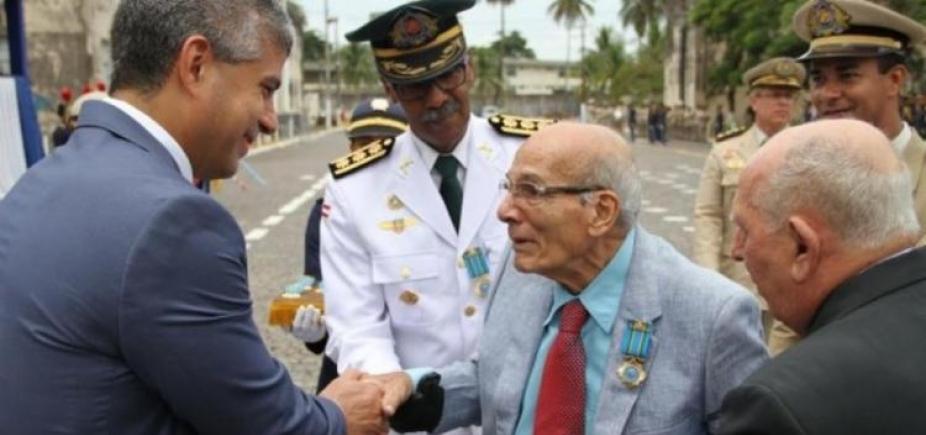 [Morre o coronelJoão Damasceno Mansur de Carvalho, um dos grandes oficiais da PM]