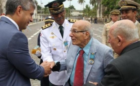 Tio da deputada Fabíola Mansur, coronelJoão Damasceno Mansur de Carvalho morre aos 85 anos