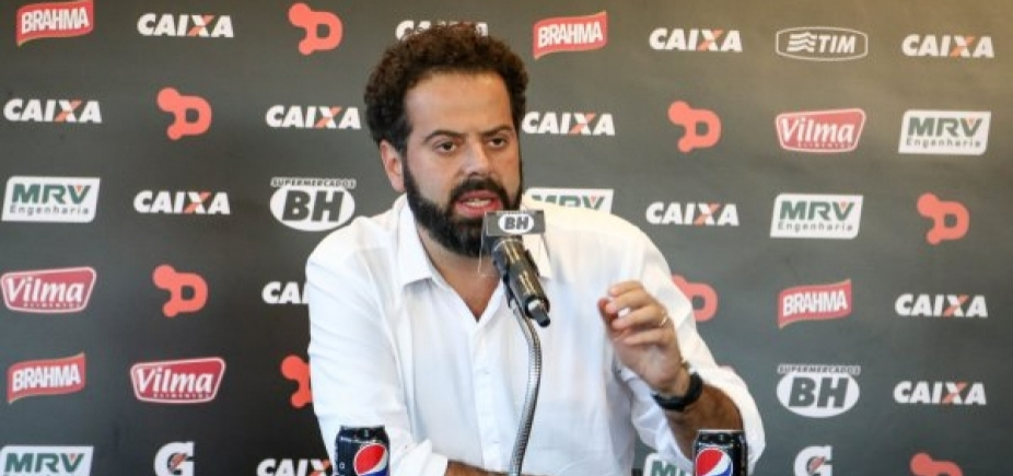 [Após derrota, presidente do Atlético-MG demite técnico e polemiza: