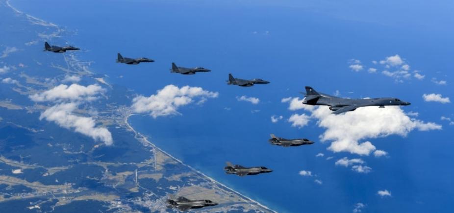 [Coreia do Norte acusa EUA de declararem guerra e promete contra-ataque]