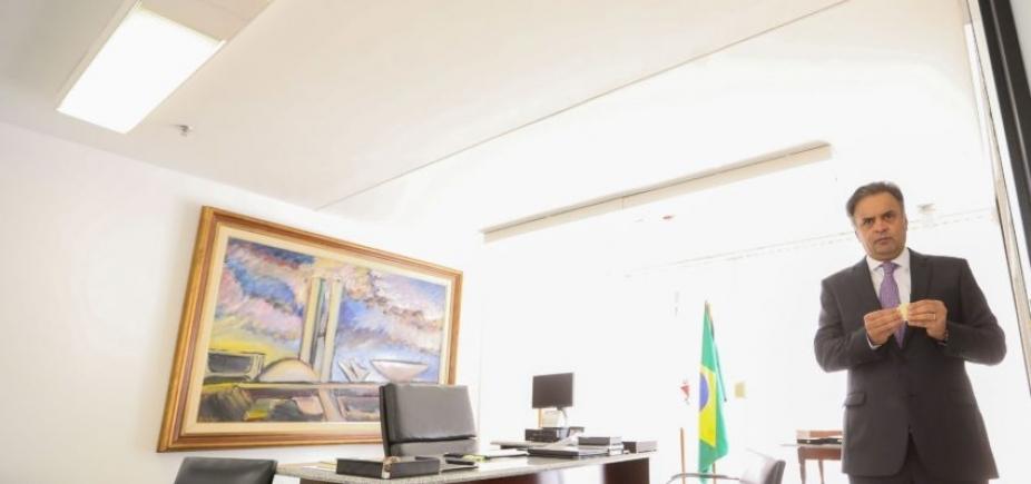 [STF rejeita prisão de Aécio Neves; relator fala em