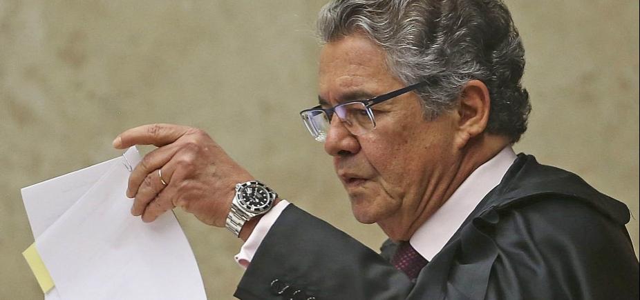 [Senado pode revisar afastamento de Aécio Neves, admite Marco Aurélio]
