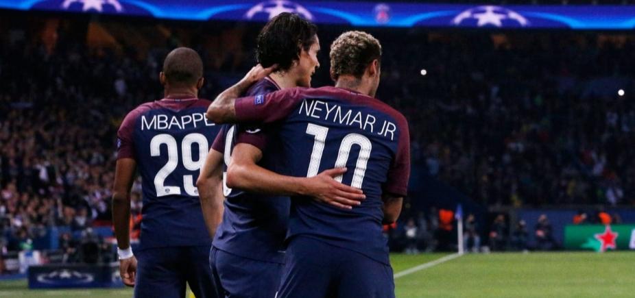 [Neymar nega atrito com Cavani: \