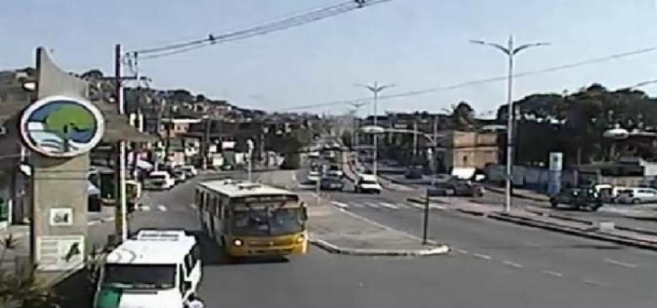 [Pedestre morre após ser atropelado por ônibus na Suburbana ]
