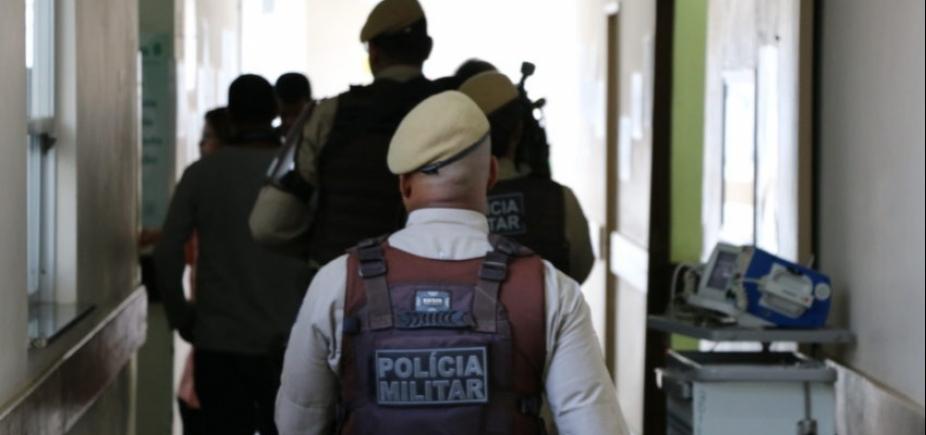 [Policial militar é baleado durante assalto no Shopping Paralela]