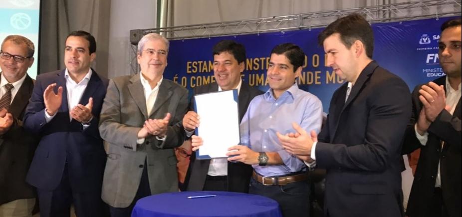 [Pinheiro nega candidatura em 2018 e aposta em vantagem de Neto: