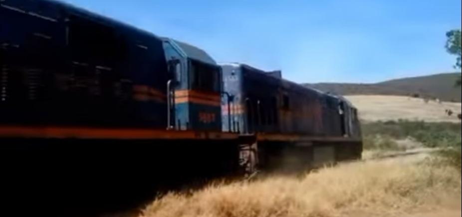 [Homem morre esmagado por trem em Brumado, na Bahia]