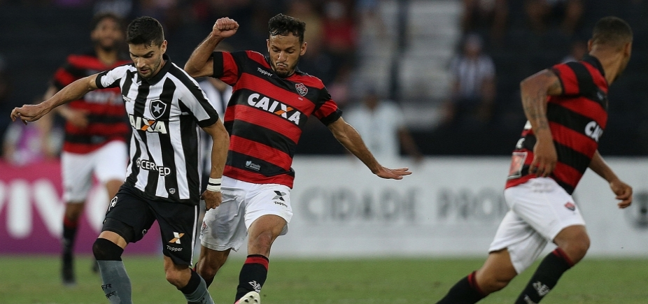 [De virada! Vitória vence Botafogo por 3 a 2 e se mantém fora da zona de rebaixamento]