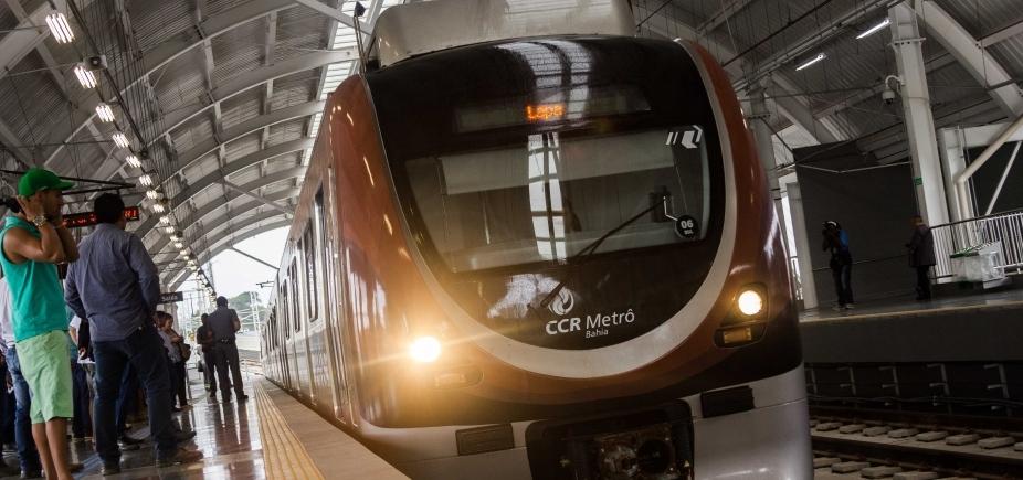 [Homens são presos tentando roubar fios de cobre do metrô de Salvador]