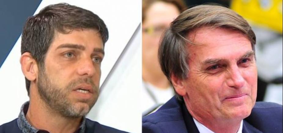 [Ex-jogador critica 'bolsominions' no Twitter e discute com filho de Bolsonaro]