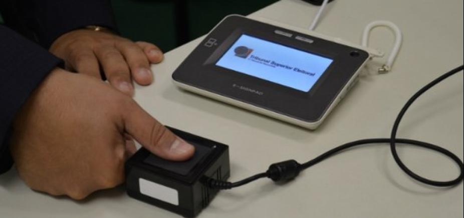 [TRE da Bahia biometriza quase 130 mil eleitores em uma semana]
