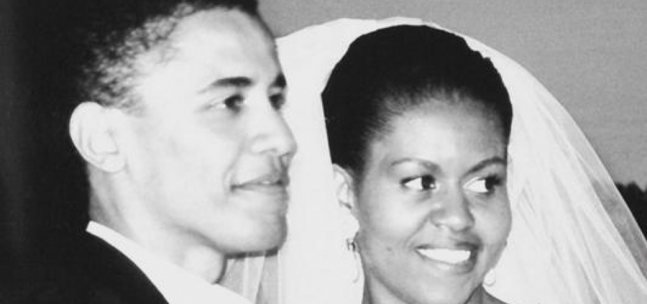 [Após rumor de divórcio, Michelle Obama comemora 25 anos de casamento com Barack ]