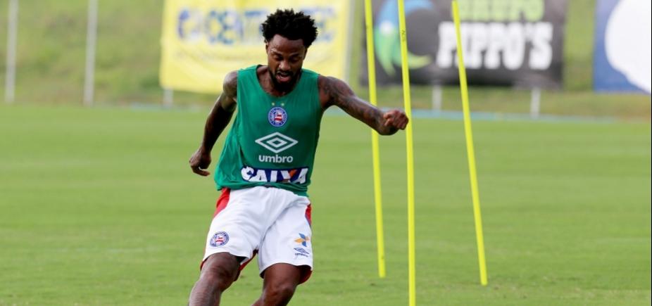 [Renê Júnior volta a treinar e pode reforçar o Bahia contra o Palmeiras]