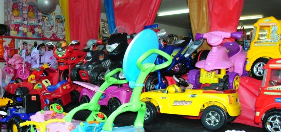 [Operação Criança Segura: Codecon autua 5 estabelecimentos de brinquedos em Salvador]