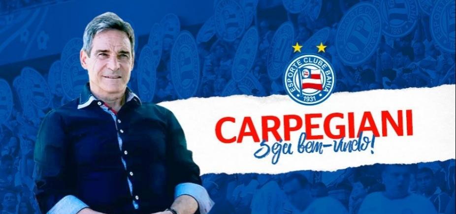 [Bahia confirma a contratação de Paulo César Carpegiani]