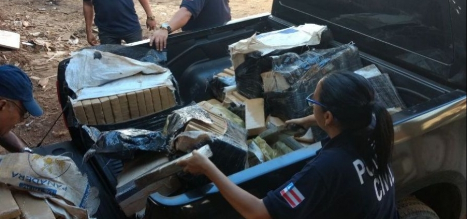 [Três toneladas de drogas foram incineradas na Bahia nas últimas 24h]