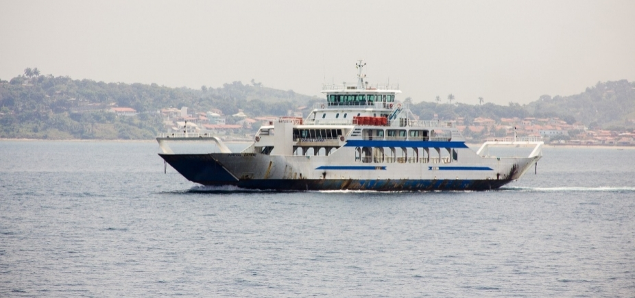 [Embarque no ferry é moderado no sentido Mar Grande nesta sexta]