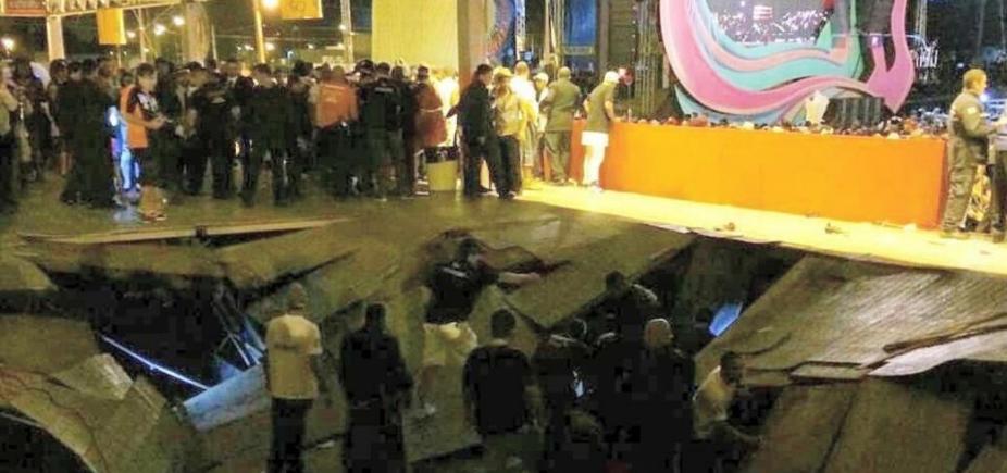 [Camarote desaba durante show de Ivete e deixa mais de 60 feridos; vídeo]