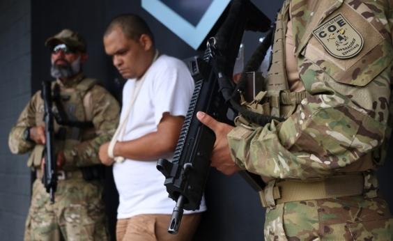 Suspeito de liderar facção que movimentou R$ 3,4 mi com lavagem de dinheiro na Bahia é preso