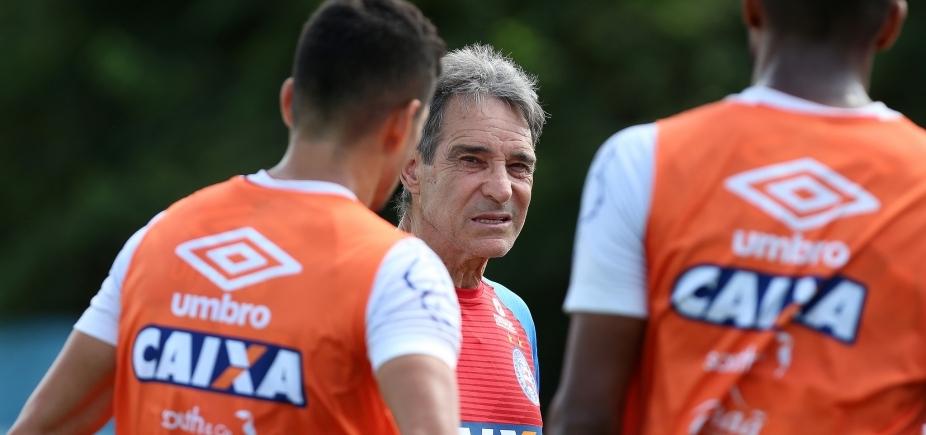 [Com novidades, Carpegiani relaciona 20 jogadores para duelo com o Palmeiras]