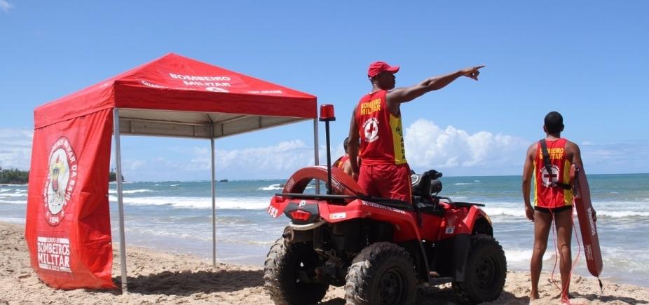 [Feriado: crianças receberão pulseiras de identificação pelo Corpo de Bombeiros nas praias de Salvador ]