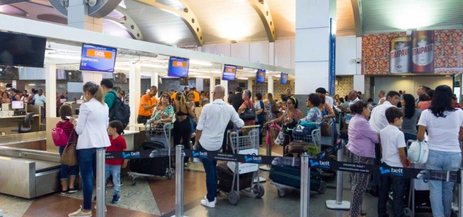 [Aeroporto terá reestruturação da área de check-in e reforço na segurança, adianta Vinci ]