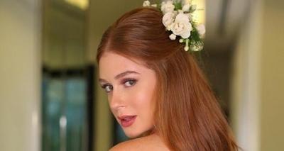 Estilista publica foto do vestido do casamento religioso de Marina Ruy Barbosa; veja