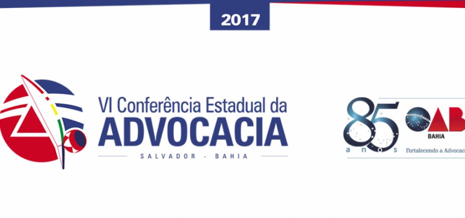 [ 6ª Conferência Estadual da Advocacia já tem 2 mil inscritos, diz OAB-BA]