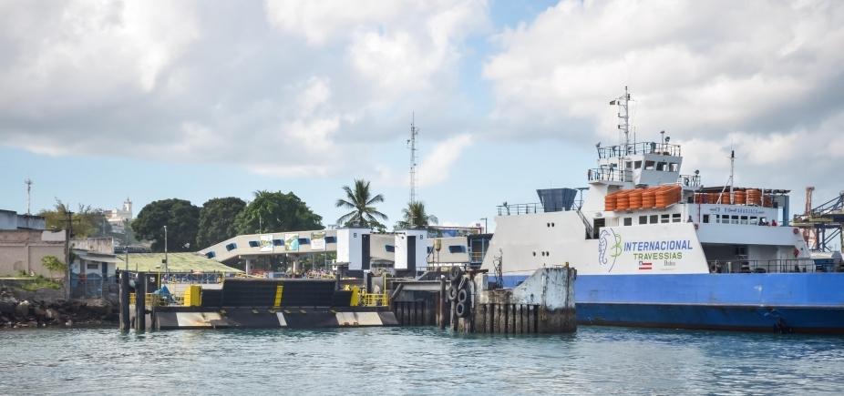 [Ferry tem fluxo moderado em São Joaquim; saídas acontecem a cada 30 minutos nesta sexta]