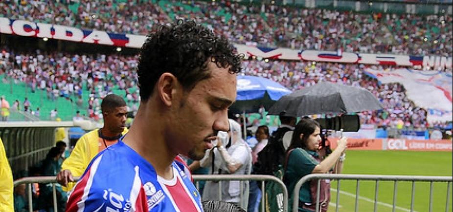 [Autor dos gols do Bahia, Edigar Junio ressalta ʹconfiançaʹ de Carpegiani]