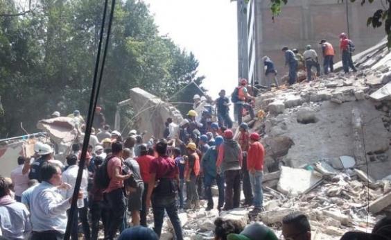 México: terremoto de magnitude 5,5 graus atinge sul do país