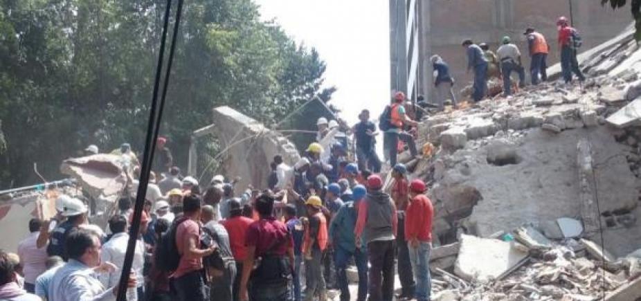[México: terremoto de magnitude 5,5 graus atinge sul do país]