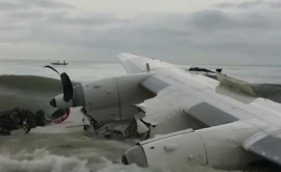 Avião de carga cai e deixa quatro mortos na Costa do Marfim