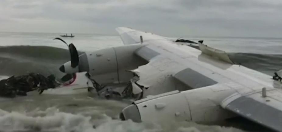 [Avião de carga cai e deixa quatro mortos na Costa do Marfim]