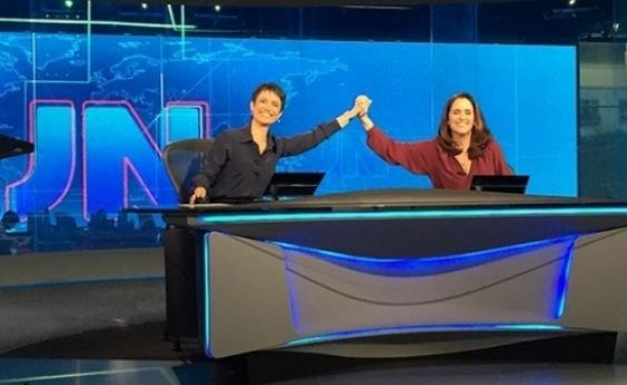 Com 26 anos de TV Globo, jornalista comemora estreia no JN: Um sonho