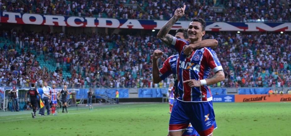 [Bateu o líder! Bahia vence Corinthians por 2 a 0 e se afasta da zona de rebaixamento ]