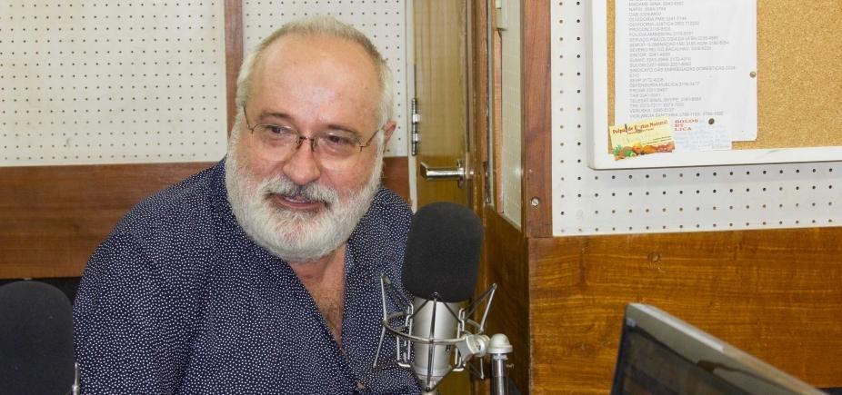 "[Professor da Ufba relembra importância de Albergaria: ""Seu destino era a mídia""]"