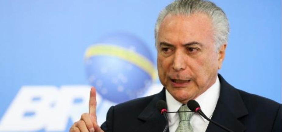 [Em carta a parlamentares, Temer usa declarações de Cunha para atacar delação de Funaro]