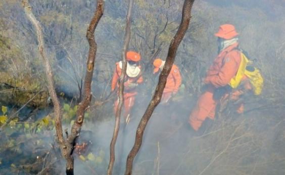 Incendio na Chapada completa cinco dias e governo intensifica ações de combate