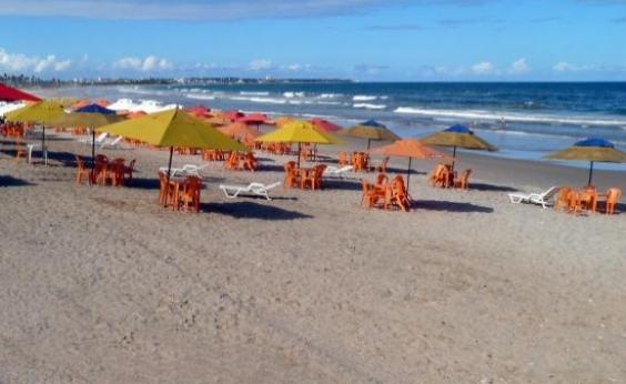 Homem morre após tiroteio na praia de Patamares