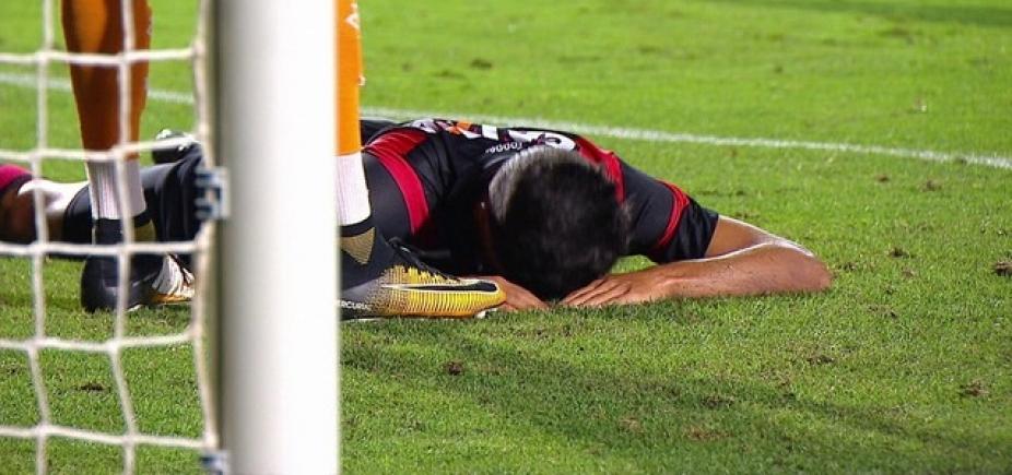 [Vitória joga bem, mas vacila e cede empate ao Santos em 2 a 2]