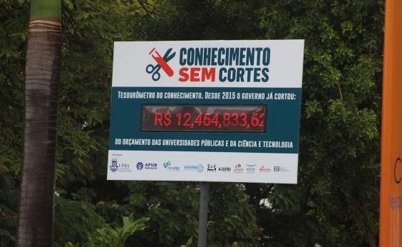 R$ 12 bi deixaram de ser investidos em universidades, diz Tesourômetro da Ufba