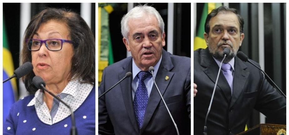 [Senadores baianos votaram a favor da manutenção do afastamentode Aécio]