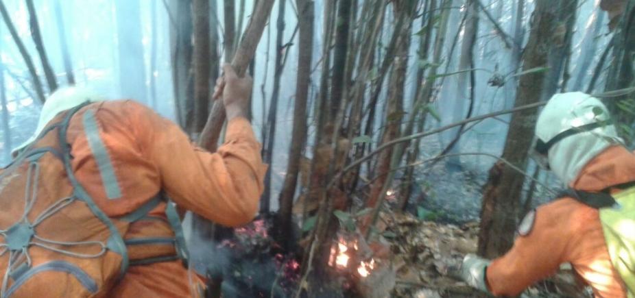 [Área de preservação ambiental no oeste da Bahia é atingida por incêndio]