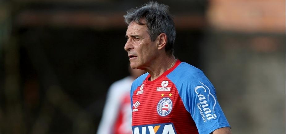 [Sem Rodrigão, Carpegiani divulga relacionados do Bahia para enfrentar o Flamengo]