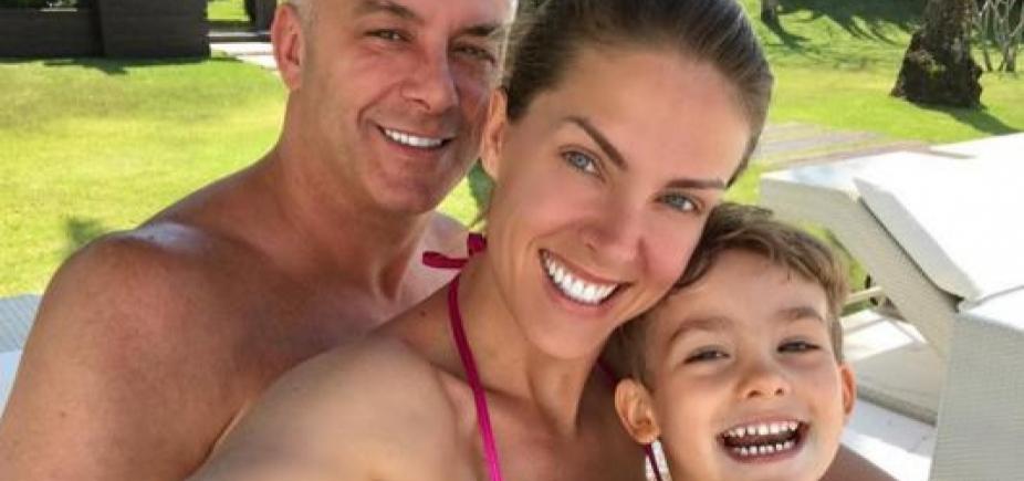 [Ana Hickmann se revolta ao ter filho xingado na web: \