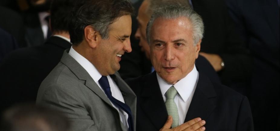 [PSDB nega ter feito acordo com Temer e PMDB para salvar Aécio]